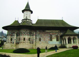 Sucevita Monastery.