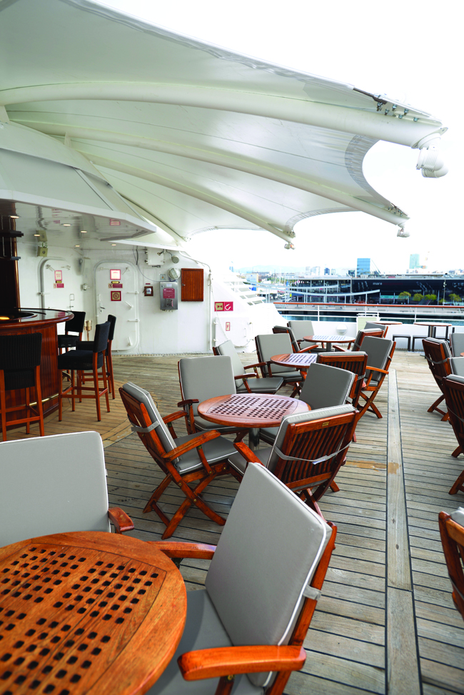 Windstar Cruises' Star Breeze.