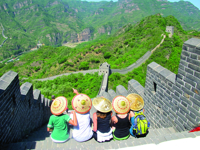 Backroads offers the opportunity to bike through China and take in all the sights.