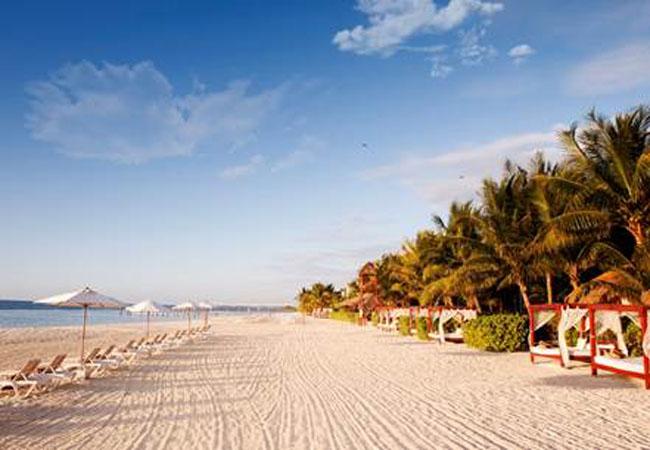 Beachside views at Generations Riviera Maya.