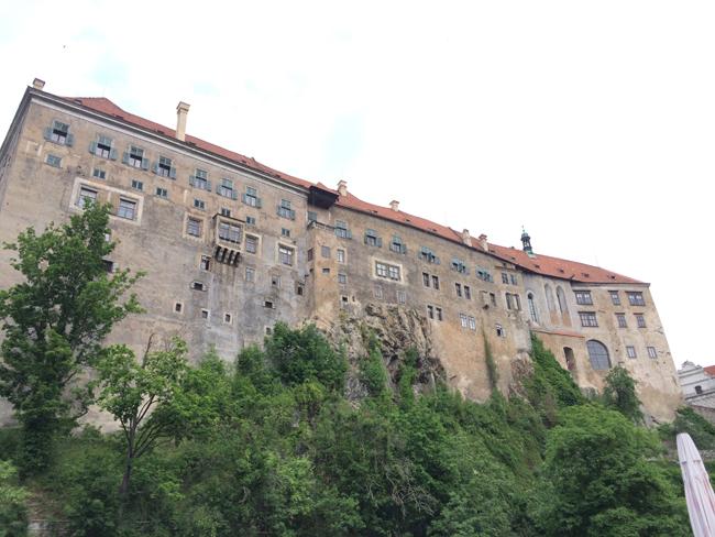 Castle in Cesky Krumlov. (Photo credit: Roxy Rico)