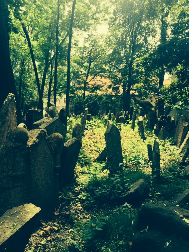 Old Jewish Cemetery in Prague. (Photo credit: Paloma Villaverde de Rico)