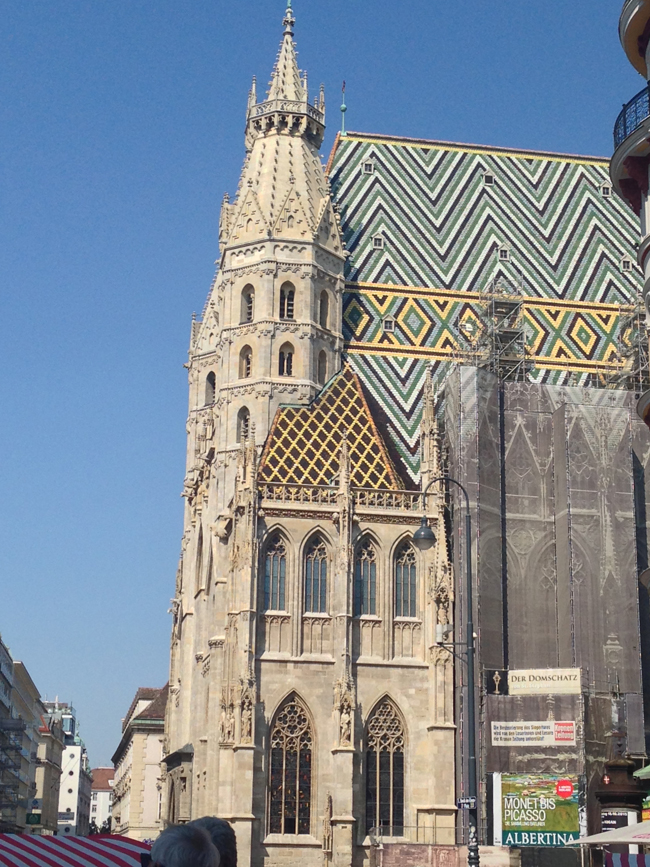 St. Stephen's Cathedral in Vienna. (Photo credit: Richard Rico)