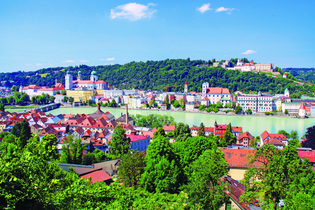 Passau and Amsterdam are a couple of the destinations Scenic Cruises visits on its myriad itineraries.