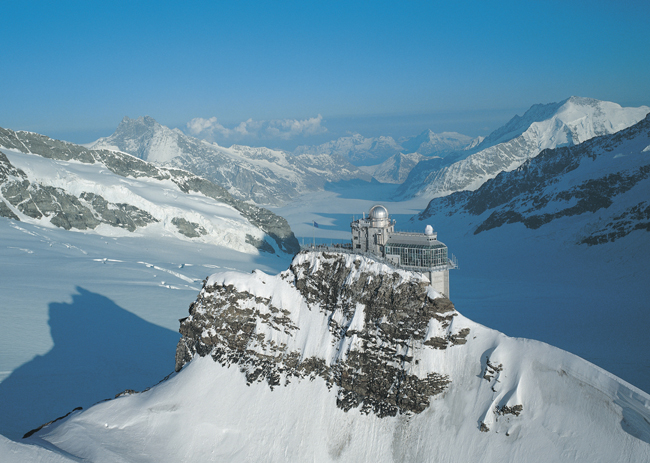 Clients on Tauck's new Rhine itinerary will visit Jungfraujoch in Switzerland.