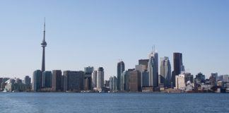Toronto's skyline. (Photo courtesy of Tourism Toronto.)