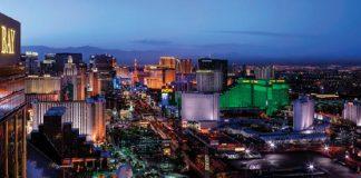 The Las Vegas skyline.