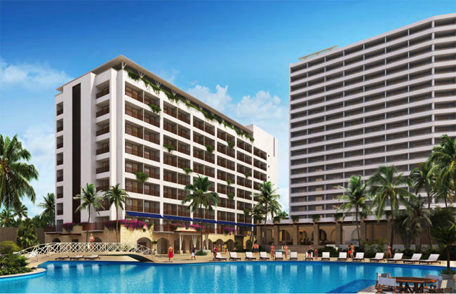 A rendering of Sunscape Resorts & Spas.