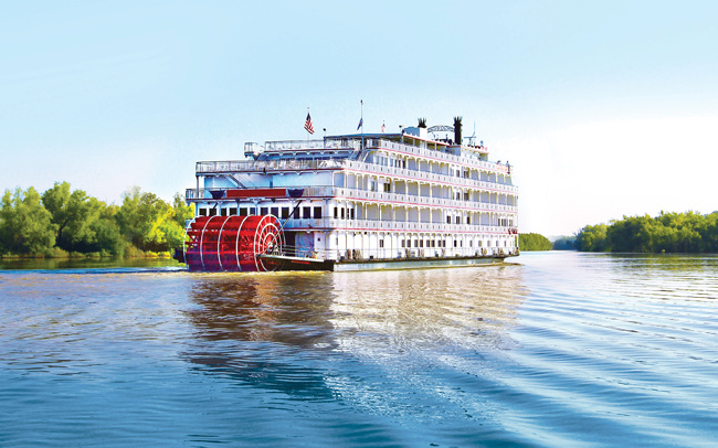 The new Columbia and Snake rivers paddle wheeler.