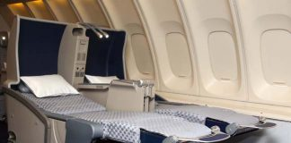 El AL Israel's new bed-like Business Class seats