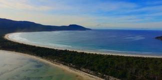 Island views of Tasmania.