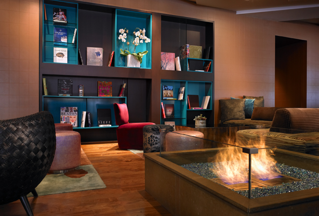 The Living Room at the W Scottsdale.