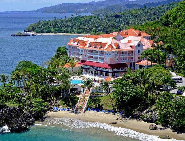 The Luxury Bahia Principe Samana Resort in Samana, Dominican Republic.