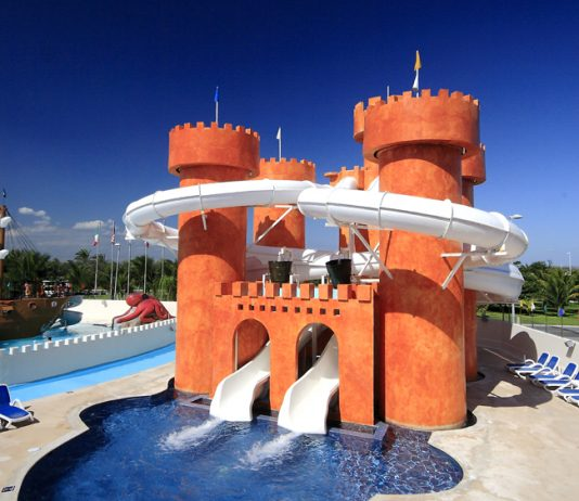 Waterpark at Great Parnassus All-Inclusive Resort & Spa in Cancun.