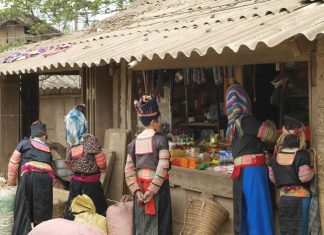 Members of Chiang Mai's hill tribe communityin Thailand.