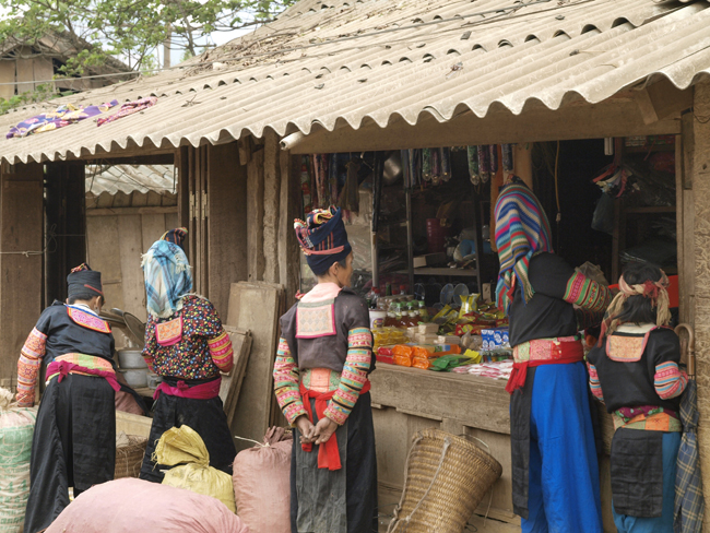 Members of Chiang Mai's hill tribe communityin Thailand.