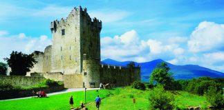 Ross Castle in Killarney, Ireland.