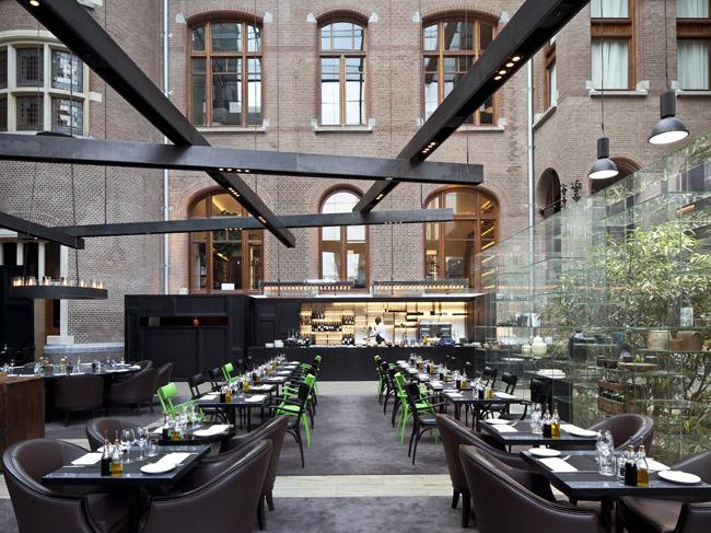 The Conservatorium Hotel's Brasserie.