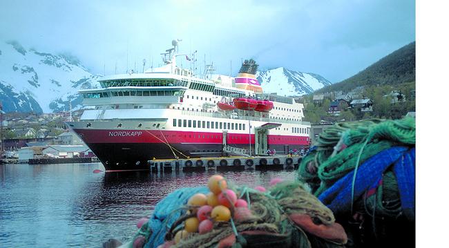 Hurtigruten's MS Nordkapp.