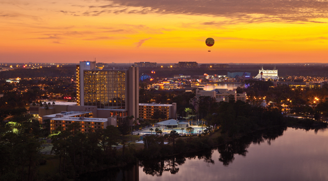 The Wyndham Lake Buena Vista Resort.