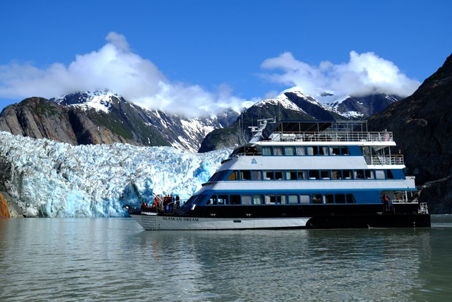 Alaskan Dream Cruises' new vessel—the Chichagof Dream.