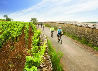 Biking through Burgundy with Butterfield & Robinson.