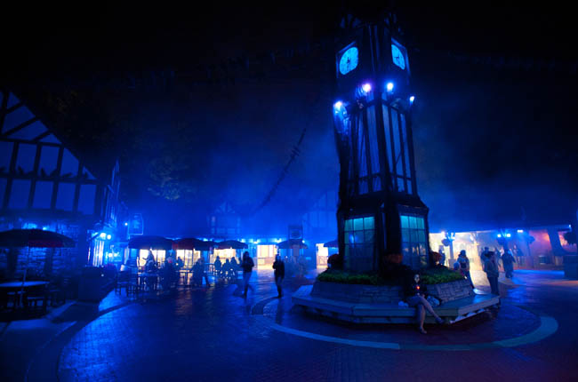 Busch Gardens' Howl-O-Scream offers chills and thrills to guests brave enough to venture into the dark side of the gardens.