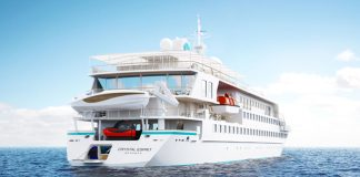 Crystal Esprit will make its maiden voyage this December.