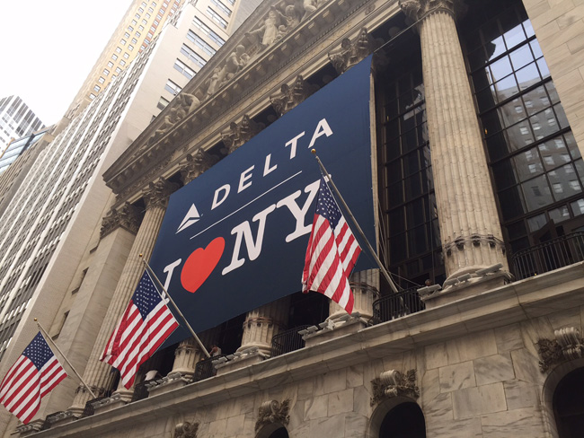 Delta is launching a co-branded partnership with the Empire State Development's Division of Tourism.