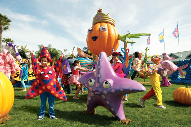 Guests can enjoy sea-themed Halloween fun for the whole family at SeaWorld Orlando and SeaWorld San Diego's Halloween Spooktaculars.