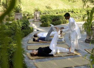 Perillo's Learning Journeys' Yoga Journeys deepens guests' spiritual and cultural awareness.