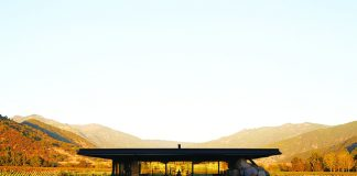 The Pavilion at Viña Vik in Chile.