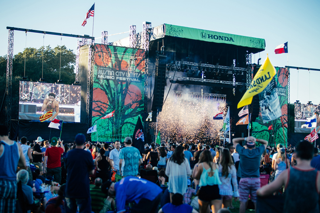 Upcoming events in Austin include the 6-day Austin City Limits Music Festival, held the first two weekends in October.