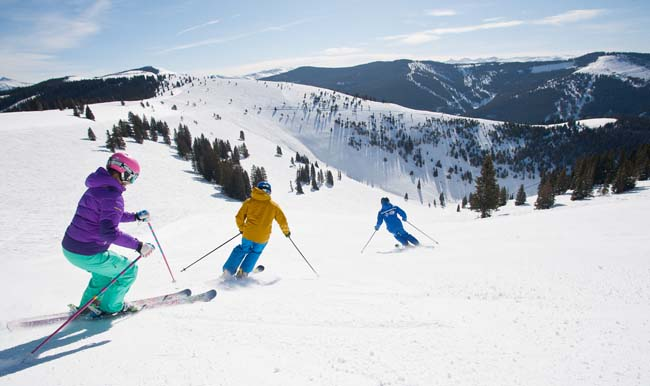 Vail resort features more than 5,200-acres of terrain, making it the third largest single mountain ski resort in North America. (Photo Credit: Dan David)