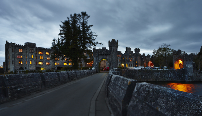 Wizard school is now in session at the Ashford Castle in Ireland.