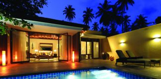 Villa accommodations at Anantara Peace Haven Tangalle Resort.