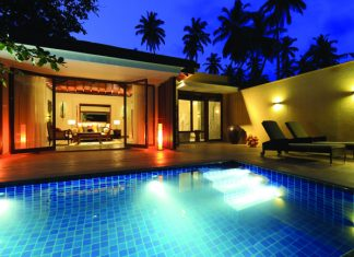 Villa accommodations at Anantara Peace Haven Tangalle Resort.
