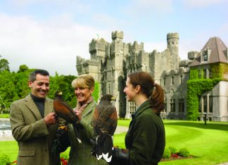 A stay in Ashford Castle is included in Insight Vacations itineraries.