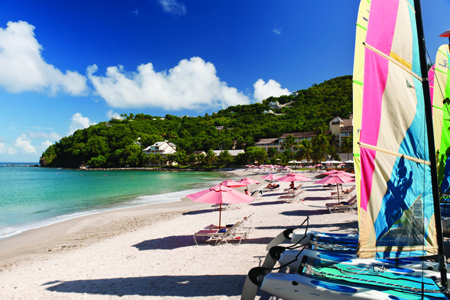 Clients can try their hand at watersports at The BodyHoliday.