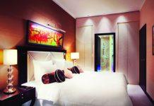 Deluxe Suite at the Grand Hotel River Park in Bratislava.