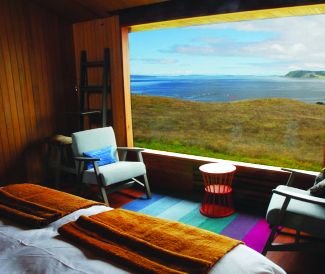 Accommodations at Tierra Chiloe Hotel & Spa in Chile.