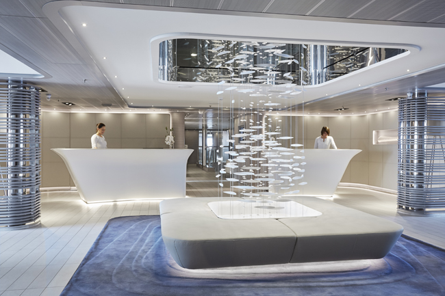 Ponant Yacht Spa.