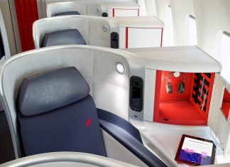 Air France's new Business, Premium Economy, and Economy class long-haul cabins are available on services out of New York, Los Angeles, Washington, D.C. and now, Boston.
