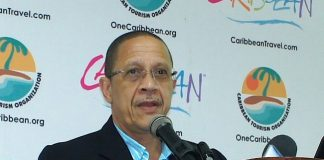 """AttheCaribbean Tourism Organization'sannual State of the Industry Conference (SOTIC),William """"Billy"""" Griffith, CEO ofBarbados Tourism Marketing Inc., forecasted continued growth inBarbados' tourism."""