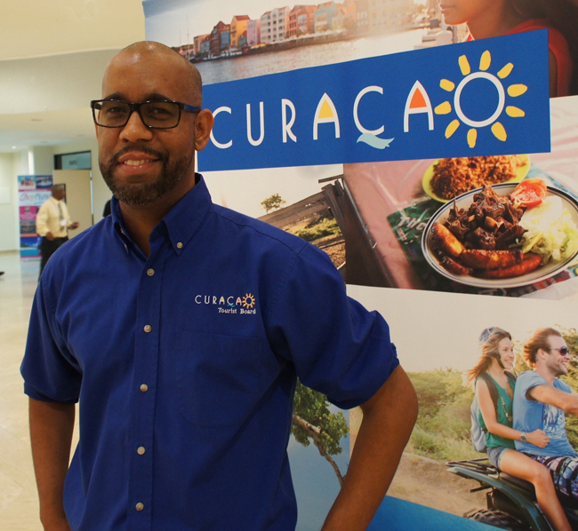 Curaçao Tourist Board Marketing Manager Andre Rojer.