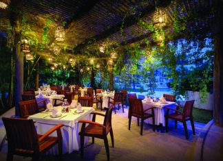 Frida restaurant at the All-Inclusive Hard Rock Hotels.