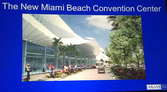 The New Miami Beach Convention Center will debut in 2018.