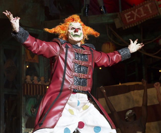 In celebration of Halloween Horror Nights' 25th anniversary, Universal Orlando brought back several iconic characters from past years, including the event's original icon and 2015 host, Jack the Clown.