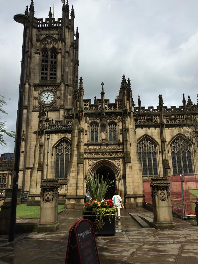 Manchester Cathedral. (Deserae del Campo)