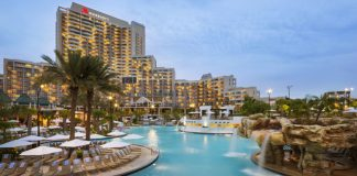The Orlando World Center Marriot's Weekend Winter-vention promotion offers guests 20 percent savings and a $25 daily resort credit for booking now through Dec. 31, 2015.